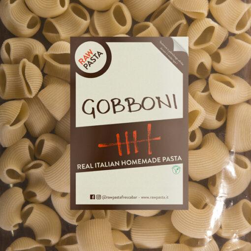 Dobre sveže domače testenine v obliki gobboni iz Rawpasta Ljubljana
