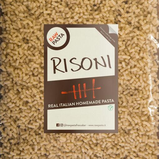 Dobre sveže domače testenine v obliki Risoni iz Rawpasta Ljubljana