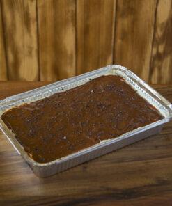 La buonissima pannacotta con topping al cioccolato di Rawpasta