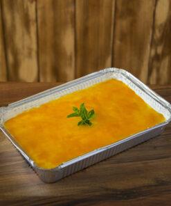 La deliziosa pannacotta con topping al Mango di Rawpasta