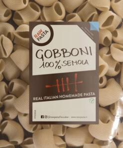 Sveže domače testenine iz zdroba iz trde pšenice Gobboni RawPasta Ljubljana