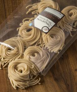 Dobri Debeli špageti iz pšeničnega zdroba durum Raw pasta