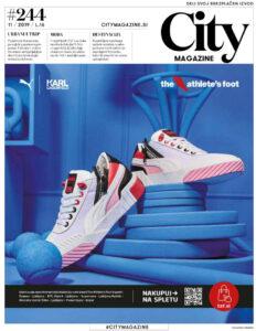 City Magazine Ljubljana Cover