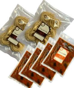 Kit spaghettone siciliana suce Raw pasta