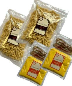 kit Makaroni carbonara Raw pasta